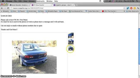 Craigslist Myrtle Garage Sales by Www Craigslistmacon Autos Weblog