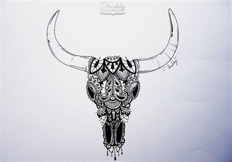 longhorn skull tattoo designs collection of 25 bull skull
