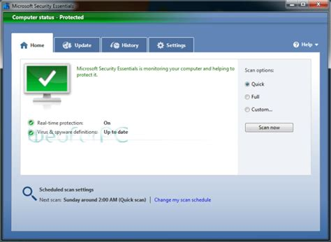 microsoft security essentials 32 bit 64 bit web