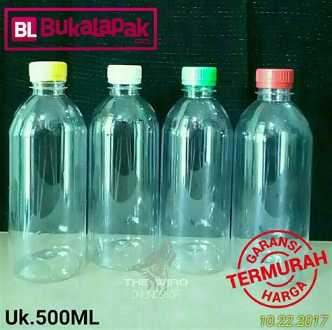 Botol Lab 500 Ml jual botol 500 ml kemasan plastik tutup segel madu jamu sabun deterjen softener karbol