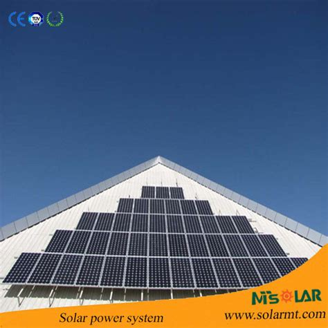 mobile home solar panel system from china manufacturer
