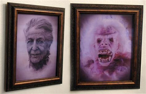 Ghostbusters Library Ghost Transforming Portrait   The