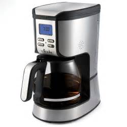 machine cofee primula speak n brew talking coffee maker the green