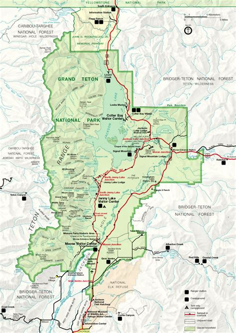 grand teton national park map file map of grand teton national park jpg wikimedia commons