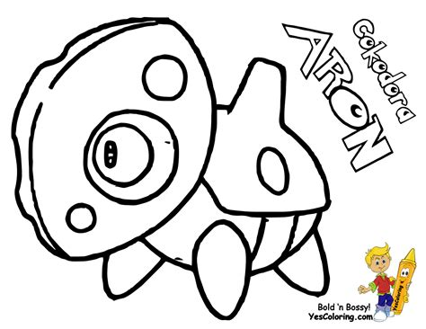 pokemon coloring pages aggron aggron coloring pages coloring pages