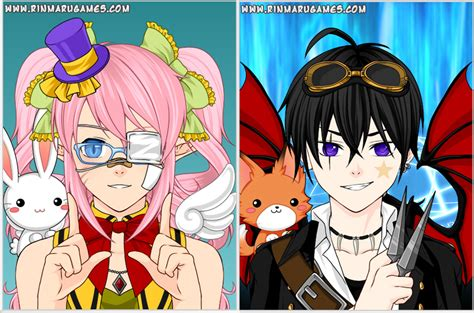 Anime Character Creator by Mega Anime Avatar Creator By Rinmaru On Deviantart