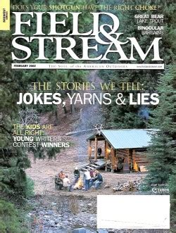 Field And Stream Gift Card - vintage field and stream magazine february 2002 like new condition midwest edition