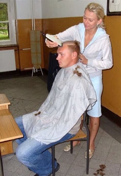 military punishment haircut 24 best barberette images on pinterest