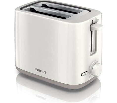 Philip Toaster buy philips hd2595 01 2 slice toaster white free