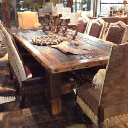25 best ideas about reclaimed wood dining table on