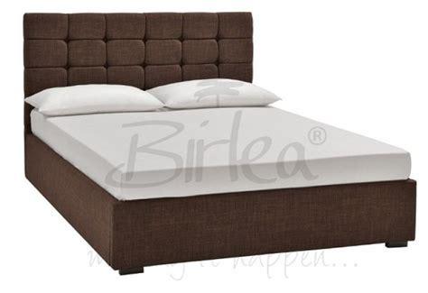 Brown King Bed Frame Birlea 6ft King Size Brown Upholstered