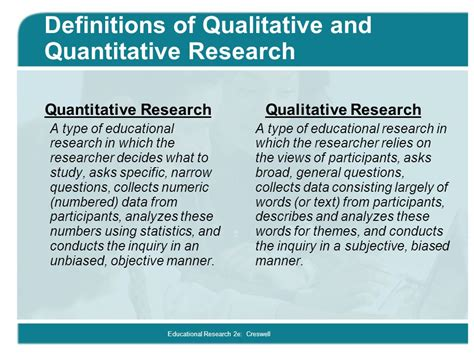 qualitative design meaning quantitative and qualitative approaches ppt video online