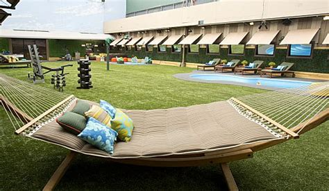 big brother backyard big brother 16 backyard hammock big brother network
