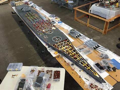 biggest ships in world war 2 uss missouri the world s largest lego wwii battleship