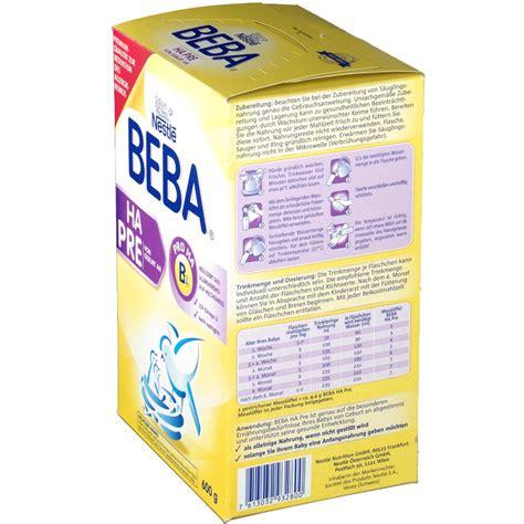 beba ha 1 ab wann nestl 233 beba 174 ha pre geburt an shop apotheke