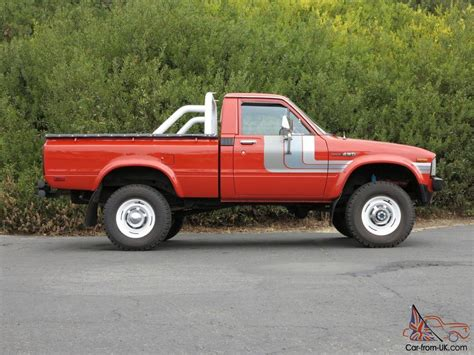 1980 Toyota Truck 1980 Toyota 4wd Sport Truck 49k Original Original