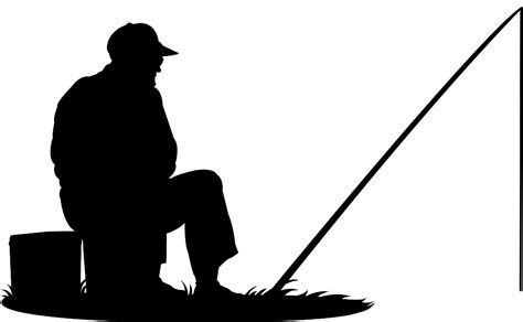 fishing boat silhouette clip art man fishing silhouette free vector silhouettes