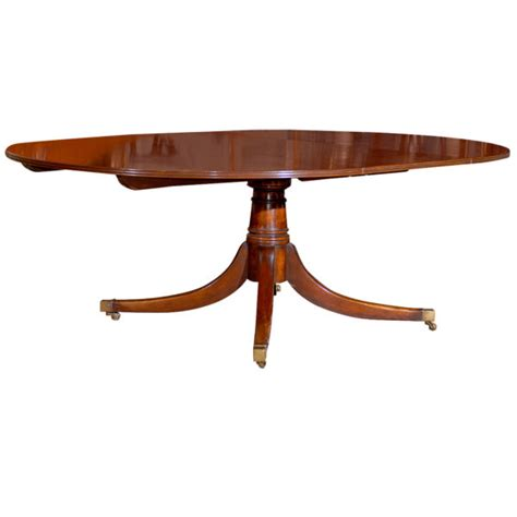 Oval Mahogany Dining Table Oval Mahogany Dining Table With Leaf Foxglove Antiques Galleries