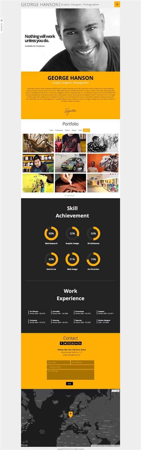 Cv Theme Free 2014 by 15 Best Resume Themes 2017 Smashthemes