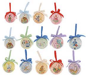 jim shore 12 days of christmas set of 14 hanging ornaments
