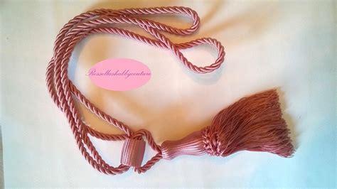 cordone per tende cordone quot embrasse rosa quot per tenda per la casa e per te