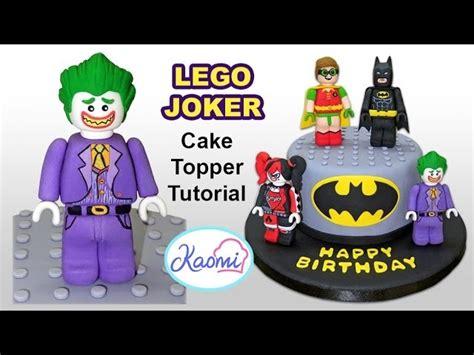 lego joker tutorial how to make lego joker cake topper c 243 mo hacer a guas 243 n