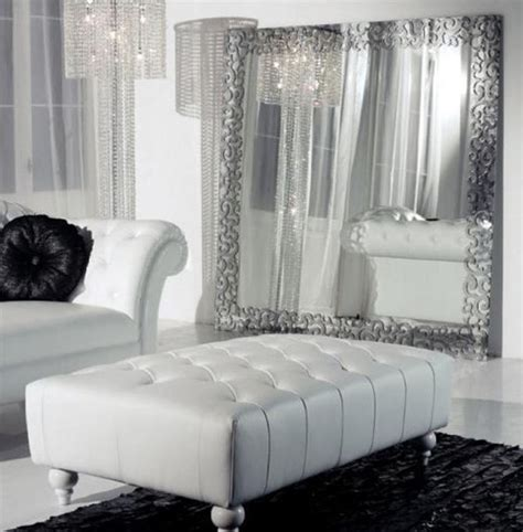 White Leather Living Room Chair - glamor glamor how i you so danika design