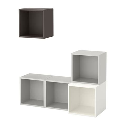 ikea eket review eket wall mounted cabinet combination white light gray