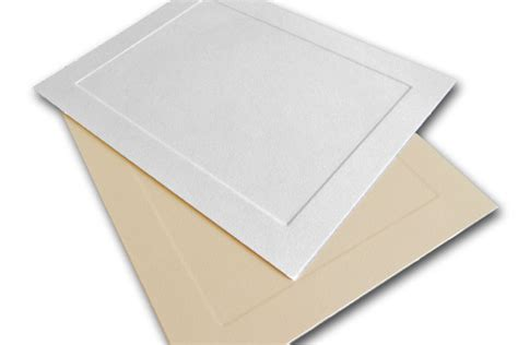 Cardstock Cards And Envelopes Template by Embossed Panel Blank Invitation Card Stock Folded