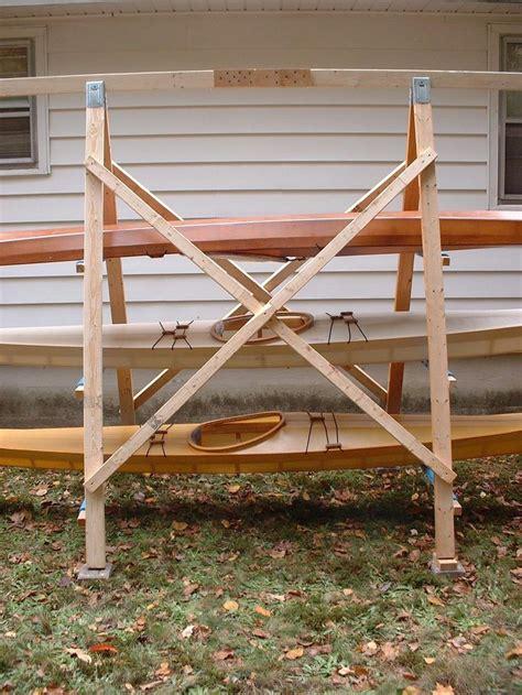 closeup view   construction    frame kayak