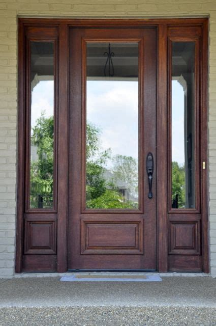 Front Doors Wood With Glass 52 Best Images About Front Door Colors On Front Doors Blue Doors And The Doors