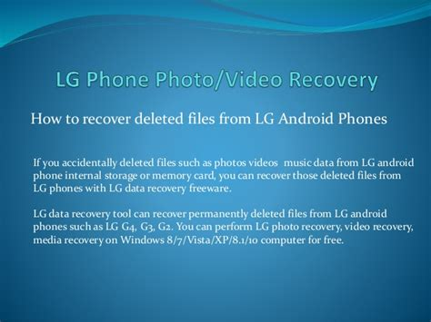 accidentally deleted photos on android lg data recovery free to undelete photos files from lg