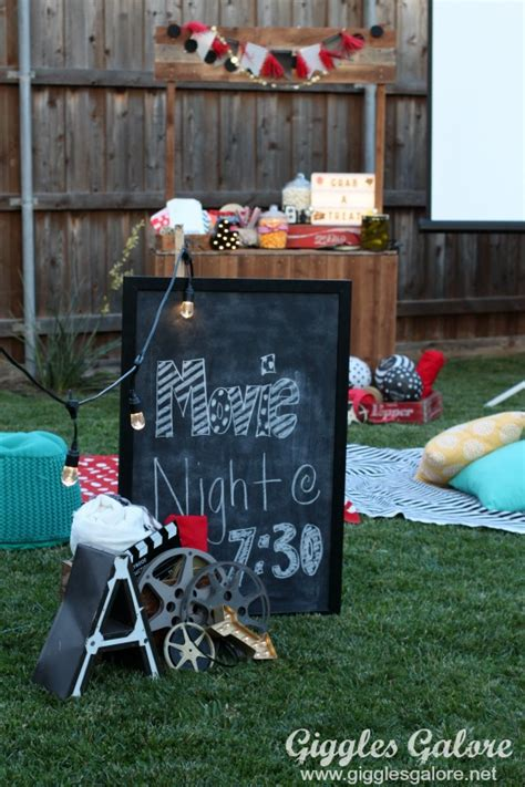 how to plan a backyard party how to plan an outdoor movie night