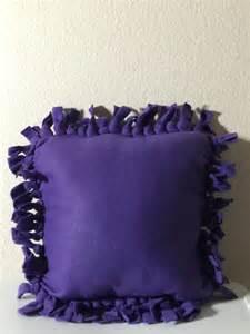 no sew fleece pillow pillows
