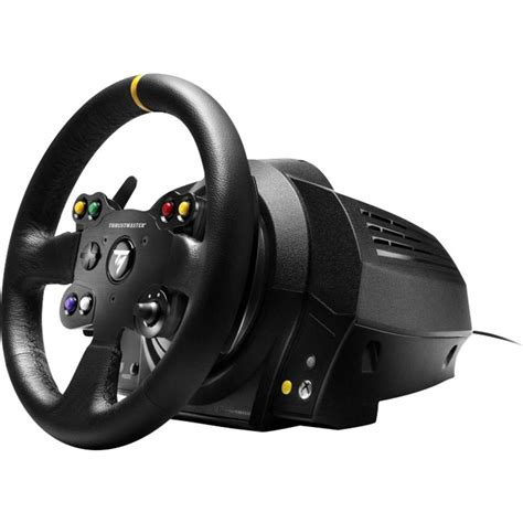volante thrustmaster xbox one volant thrustmaster tx racing wheel leather edition pc
