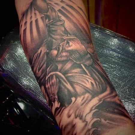 st peter tattoo tattoos by alex moreno religious tattoos page 1