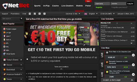 netbet mobile netbet review sports betting bonus