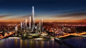 Honolulu Office Furniture by Seoul Masterplan Competition Daniel Libeskind Korea E