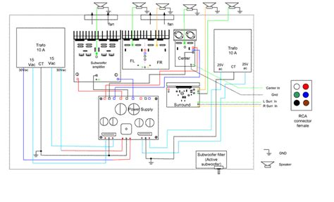stereo    channel converter circuit circuit diagram