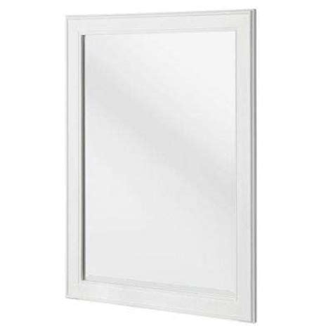 white frame bathroom mirror hanging mirrors bathroom mirrors bath the home depot