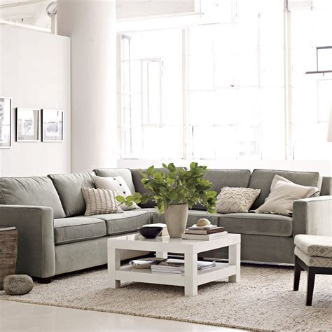 neutral sofa colors casual contemporary natural light clean lines and
