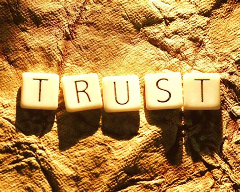 And The Tr St by How Do You Build Trust In A Trust Deficient World