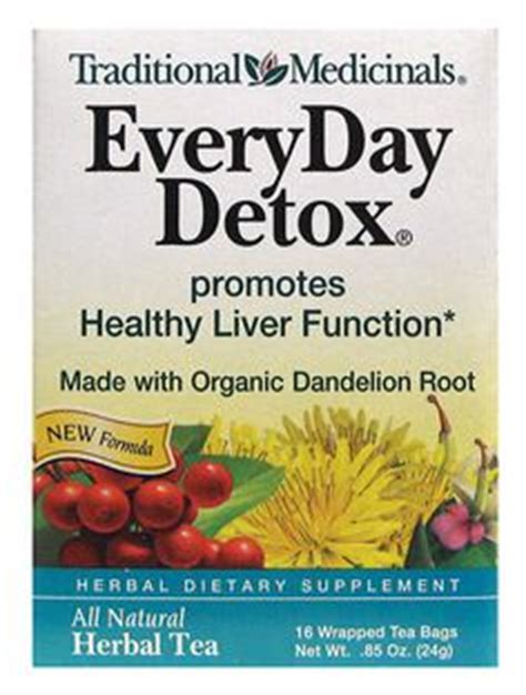Traditional Medicinals Everyday Detox Weight Loss by Dandelion Tea Detox On 1 Week Cleanse