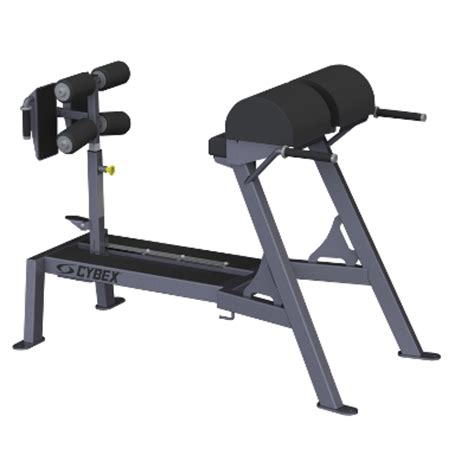 glute ham raise on hyperextension bench cybex introduces big iron glute ham reverse hyper
