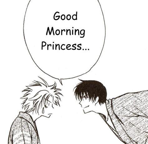 anime couple good morning good morning princess quotes quotesgram