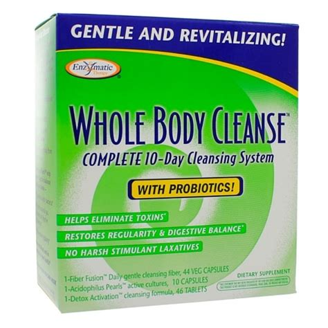Health Food Store Detox Kits by Whole Cleanse 1 Kit Health Store Vitamins