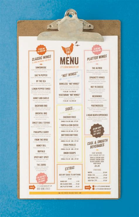 design cafe pacific design center menu 46 creative restaurant menus designs menu restaurant