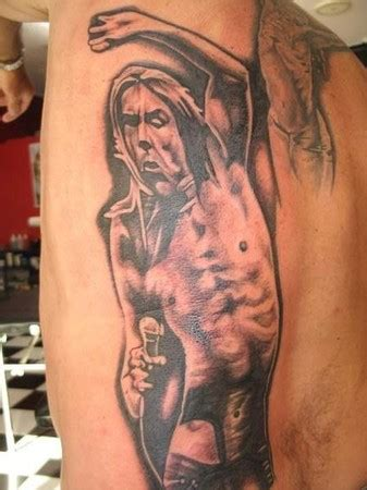 aj styles tattoo iggy pop by aj tattoonow