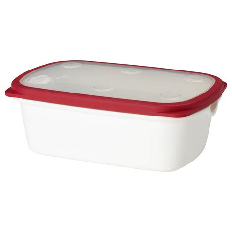 Tupperware Ikea ikea 365 food container white 25x17x9 cm ikea
