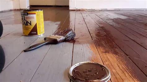 painted wood floors diy gel stain painted wood floors